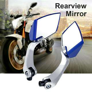 1 Pair Universal Motorcycle Motorbike Rearview Side Mirror