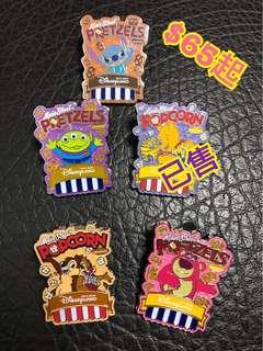 Disney Popcorn Pin 爆谷Pin