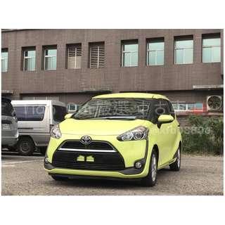 豐田 Toyota SIENTA 1.8cc//全額貸 低利率 低月付 歡迎預約賞車👏
