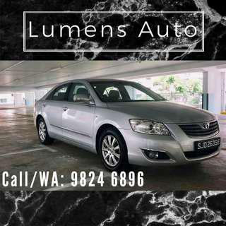 Toyota Camry - Car Rental for Grab/Personal use!