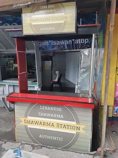 SHAWARMA CART AND MACHINE