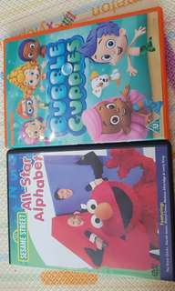 🚚 Bubble Guppies and Sesame Street DVD