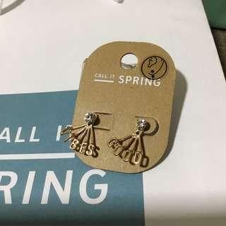 Call It Spring earrings