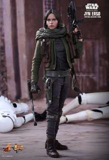 (Last Piece) *MISB* Star Wars Hot Toys Jyn Erso (Normal Edition) sixth scale collectible figure - Rogue One: A Star Wars Story