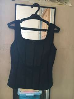 Corset like inner- lightly stretchable