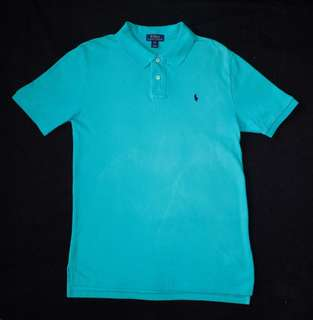 Authentic Ralph Lauren Classic Fit Mesh Polo Shirt