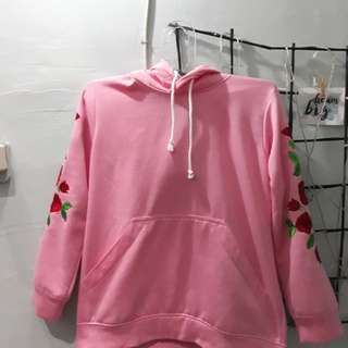 Hoodie roughcheck