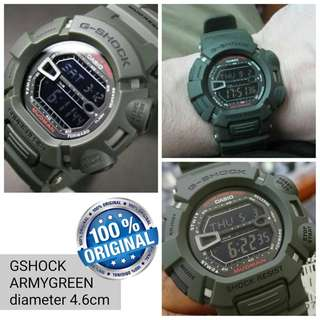 Jam Tangan G-Shock Original Army Green
