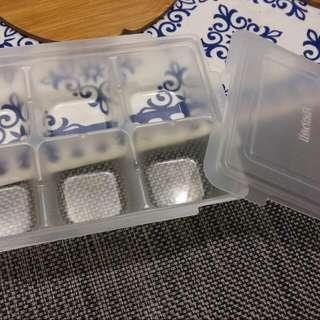 二手副食品分裝盒