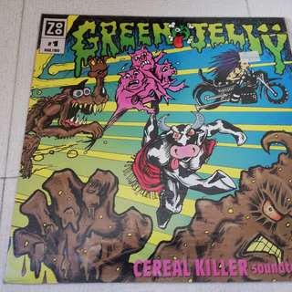 death metal cd - green jelly - cereal killer soundtrack