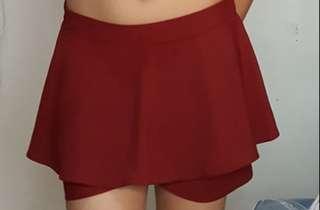 Skirt with innner short