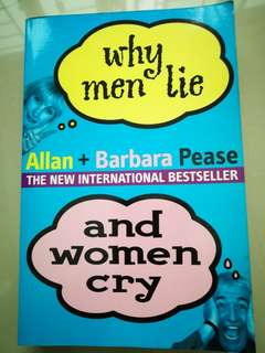 Why men lies and women cry