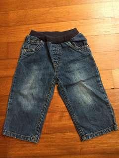 Mothercare blue jeans, 9-12m