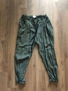 Wilfred olive trousers medium