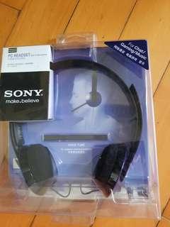 S0NY 立體耳聲機, 全新未開過未用過,$80