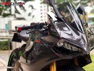 [Ready Stock] Ducati Panigale 899/1199 Full Carbon Fibre Fairing for Sale
