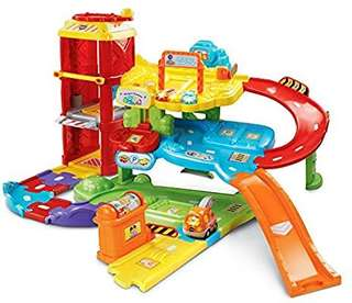 🚚 (Pre-Order)  VTech Go! Go! Smart Wheels Park and Learn Deluxe Garage