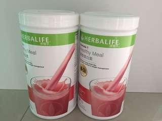 康寶萊營養蛋白素野草莓味(550g)Herbalife protein drink mix(Wild Berry)