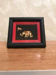 大象擺設 Elephant Mini Frame Decor
