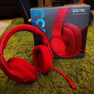 Logitech G433 7.1 Wired Gaming Headset 2 yrs warranty used 3 days