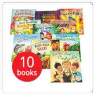 Fairytales Gone wrong 12 Books Set