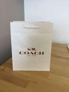 Coach 紙袋