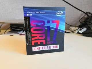 BNIB Intel i7 8086k