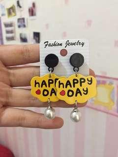 Earring Happy Day