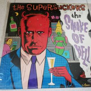 death metal cd - the supersuckers - the smoke of hell