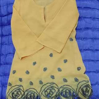 Baju Kurung Fesyen Kanak-Kanak Budak Perempuan