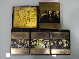 Lord Of The Rings Blu Ray, Extended Edition