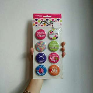 🚚 Candylicious Badges