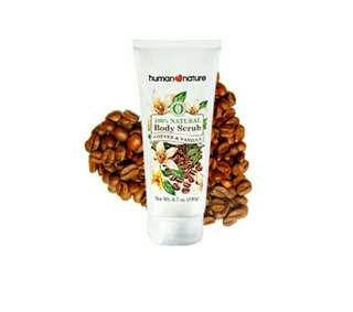 Natural Body Scrub-coffee and vanilla