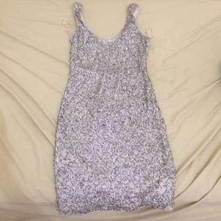 Zara Sparkle Dress Original Glitter Party