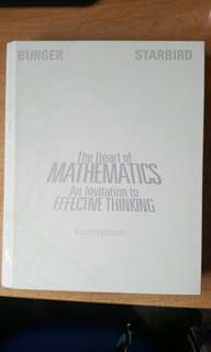 The Heart of Mathematics - An Invitation to Effective Thinking