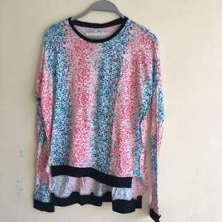 Sweater flashy
