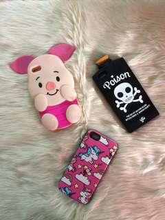 BUNDLE!!! Iphone 5s character case