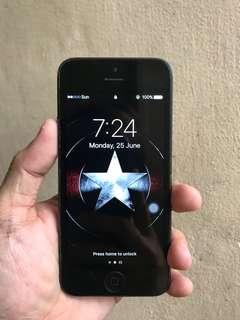 iPhone 5 Smart Locked 16GB Black