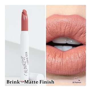 🚚 💕 Instock 💕 Colourpop Lippie Stix 💋 Brink 💋