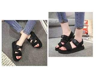 🚚 涼鞋(黑色40號)