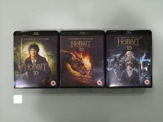 The Hobbit, Extended Edition, Blu Ray