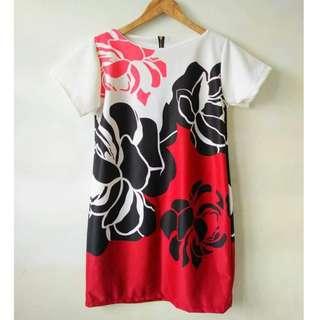 Plus Size Zipper Dress