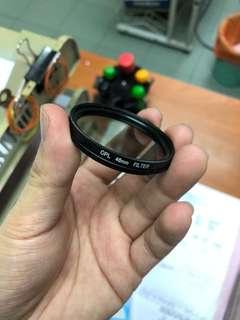 46MM cpl filter lens canon Nikon