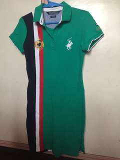AUTHENTIC POLO SHIRT DRESS