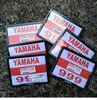 Cover Papan Plate Yamaha Thailand
