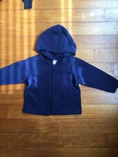Old Navy fleece hoodie, 12-18m