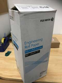 🚚 Fuji xerox Engineering Roll Paper