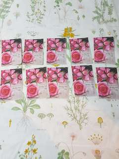 Nature Republic Sheet Mask Rose 20.000 for 1, 180.000 for 10