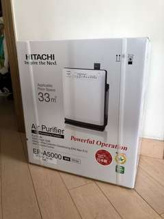 Brand New Hitachi Air Purifier EP A5000 White