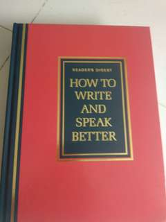Reader's digest how to write and speak better